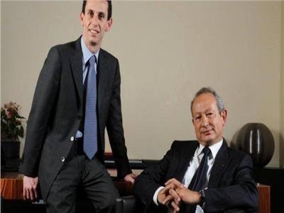 نجيب ساويرس وخالد بشارة