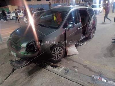 مصرع شاب واصابة ٣ في حادث مروع بطنطا
