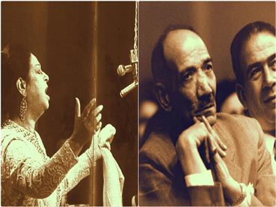 أحمد رامي وأم كلثوم