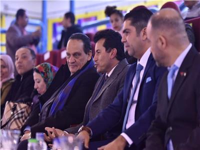 وزير الرياضة يشهد افتتاح البطولة الإفريقية للريشة الطائرة باستاد القاهرة