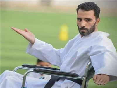 «شومان» بطل الكاراتيه.. رفض الاستسلام للإعاقة وتدرب على كرسي متحرك