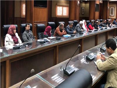 نائب محافظ سوهاج يبحث الانتهاء من مشروعات «حياة كريمة» أبريل المقبل