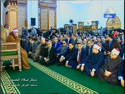 شعائر صلاة الجمعة من مسجد الفرقان بالدقهلية