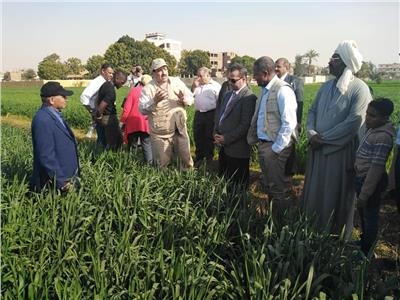خلال تفقد مبادرة توحيد الحيازات الزراعية المفتتة