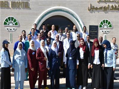 تطوير مستشفى أبوسمبل الدولى