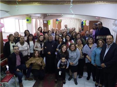 اجتماع أسرة القديس يوسف بكنيسة قبة الهواء