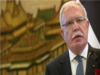 وزير الخارجية الفلسطيني رياض المالكي