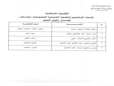 اللجان الانتخابية في الأهرام والأخبار
