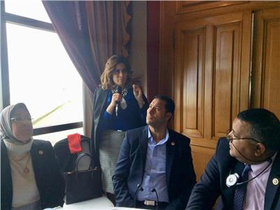 سارة عيد رئيس وحدة الشفافية