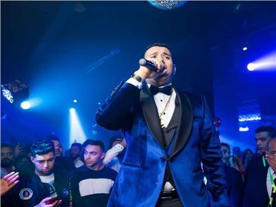 محمود الليثي خلال الحفل