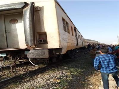 """""""السكة الحديد"""" تعلن عودة حركة القطارات بين المنيا والوسطى"""