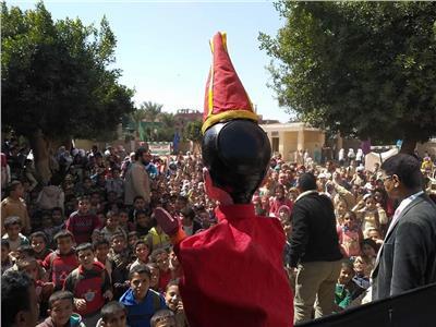 القافلة الثقافية التي يقيمها المركز القومي لثقافة الطفل