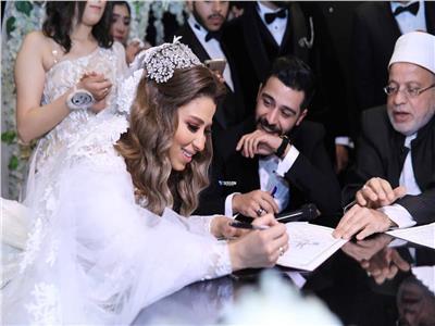 أحمد كامل يحتفل بزواجه