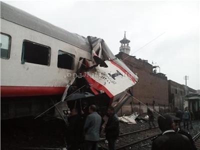 حادث قطاري روض الفرج
