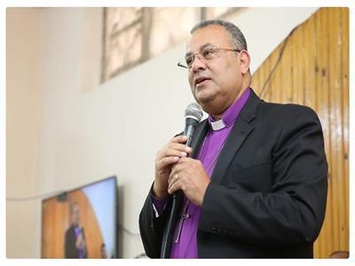 يوسف ادوارد مسئول المركز الاعلامي بالكنيسة الانجيلية