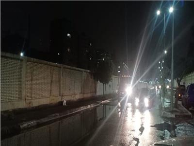 نائب محافظ القاهرة يتابع شفط مياه «منخفض التنين»