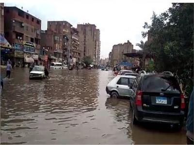 المرج بدون رئيس حي.. والأهالي يغرقون في مياه المطر لليوم الثالث من موجة الطقس السيئ