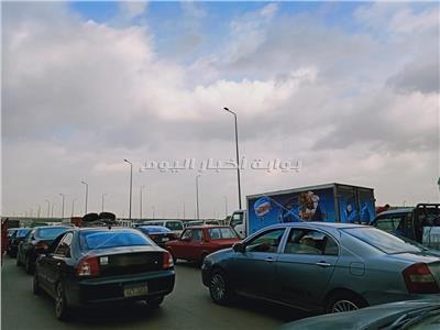 شلل مروري بمصر الإسماعيلية