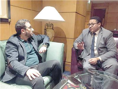 محمد الحمادى رئيس جمعية الصحفيين الإماراتيين