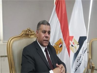 اللواء محمد عبد المقصود رئيس قطاع الأزمات والكوارث بمجلس الوزراء