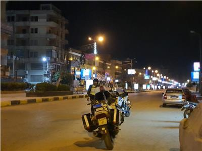 رجال الأمن بشوارع محافظة القليوبية