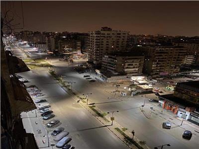 شارع عباس العقاد في حي شرق مدينة نصر بالقاهرة