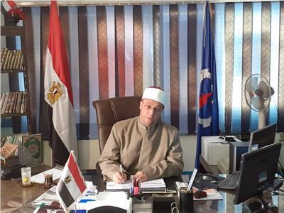 وكيل وزارة الأوقاف بالسويس، الشيخ ماجد راضي