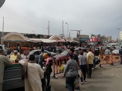 سوق الخضار بمدينة الغردقة
