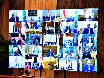 اجتماع مجلس المحافظين بالفيديوكونفرانس