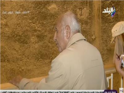 الدكتور حسن فهمي الخبير الأثري