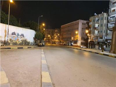 غلق قرية الهياتم