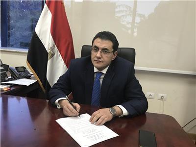 مستشار وزيرة الصحة والسكان لشئون الإعلام والمتحدث الرسمي للوزارة د.خالد مجاهد