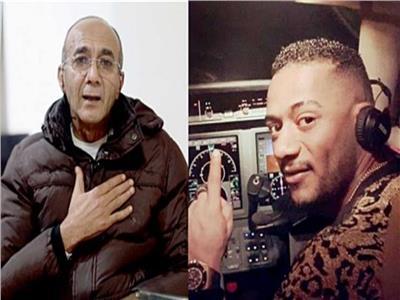 محمد رمضان والطيار أشرف أبواليسر