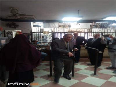 الدكتور عواد أحمد علي السكرتير العام لمحافظة القليوبية