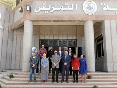 كلية التمريض بجامعة المنصورة