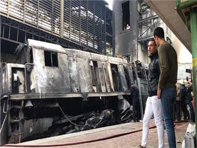حادث قطار محطة مصر