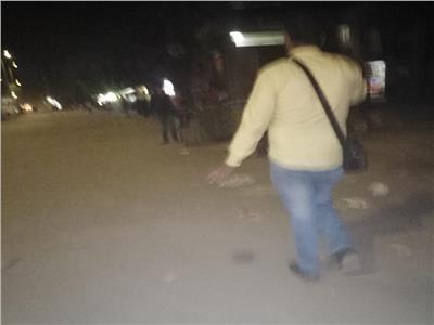 صورة توضح عدم التزام المواطنين بمدينة شبرا الخيمة