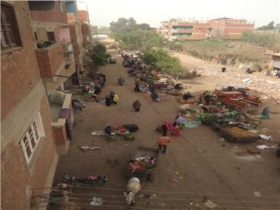 زحام المواطنين في سوق هورين ببركة السبع