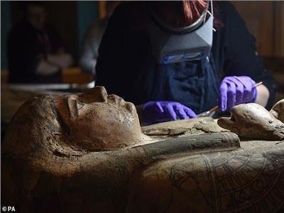 مومياء كاهنة مصرية