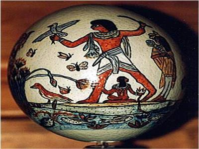 البيض و زهور الياسمين فى مصر القديمة