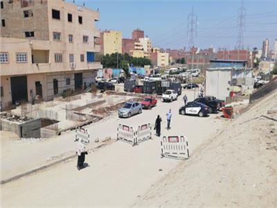 غلق مداخل قرية المعتمدية بكرداسة بعد ظهور إصابات بكورونا