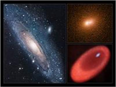صورة لتدفقات ضخمة صادرة عن ثقب أسود