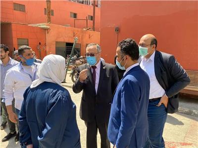 """""""أبوالغيط"""": متابعة دائمة ومستمرة لقطاع المستشفيات بجامعة الأزهر"""