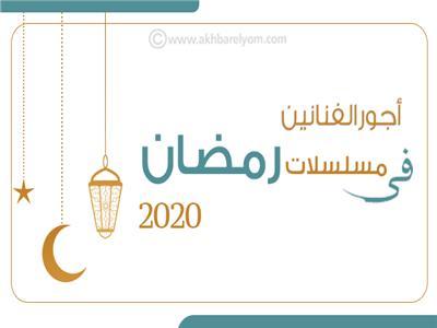 إنفوجراف   أجور الفنانين في مسلسلات رمضان 2020