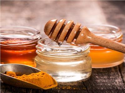 العسل والكركم