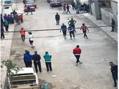امسك مخالفة  دورات كرة قدم في شوارع