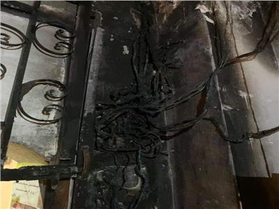 """السيطرة على حريق محدود بـ""""كانتين"""" كنيسة مار جرجس والأنبا أنطونيوس بالإسكندرية"""