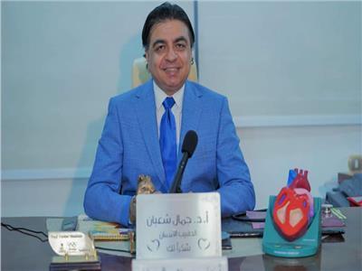 د.جمال شعبان استشاري أمراض القلب والعميد السابق لمعهد القلب