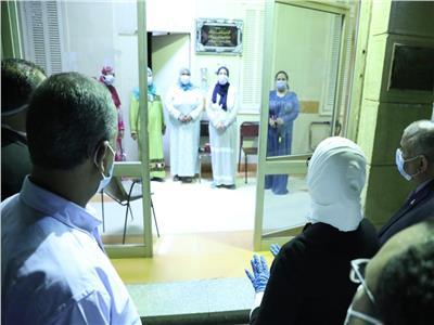وزيرة الصحة تزور ممرضات مصابات بكورونا