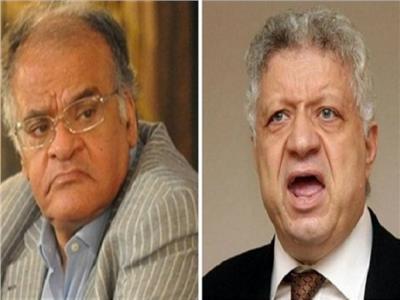 مرتضى منصور وممدوح عباس